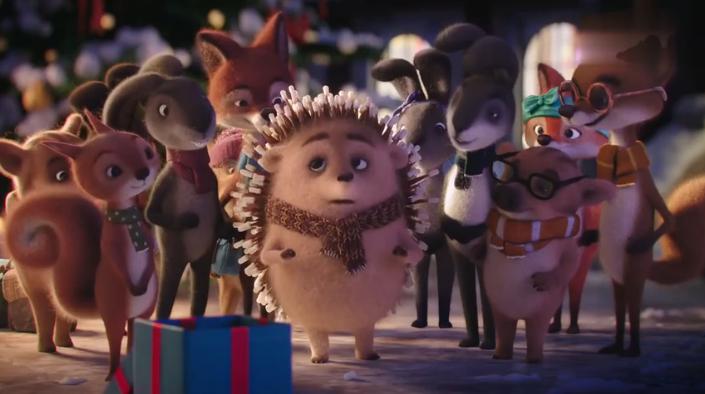 圣诞季全世界最暖萌的一条广告